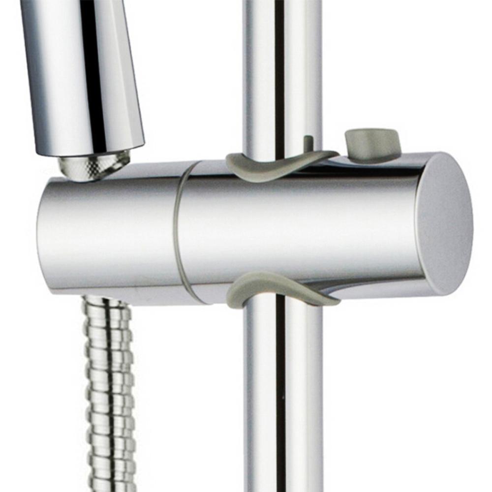 duschkopf schieber gleiter halter wandstange duschstange gleiter verchromt dsh12 ebay. Black Bedroom Furniture Sets. Home Design Ideas