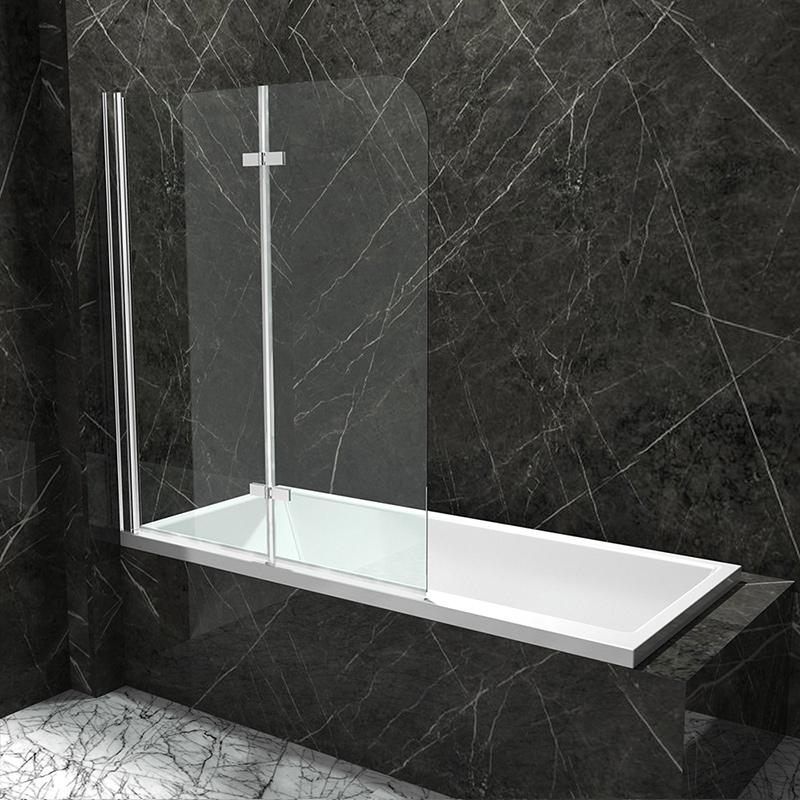 korpusbad badewannenwand badewannenaufsatz duschwand faltwand badewanne nano n4 ebay. Black Bedroom Furniture Sets. Home Design Ideas